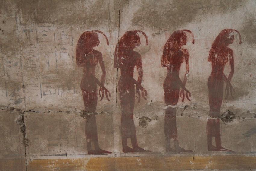 Libro де-лас-Cavernas ан-эль-де Osireón Абидосе, Абидосе