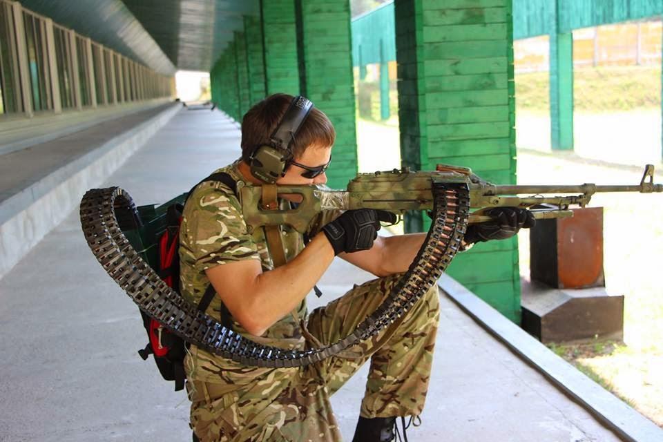 PKM Light Machine Gun