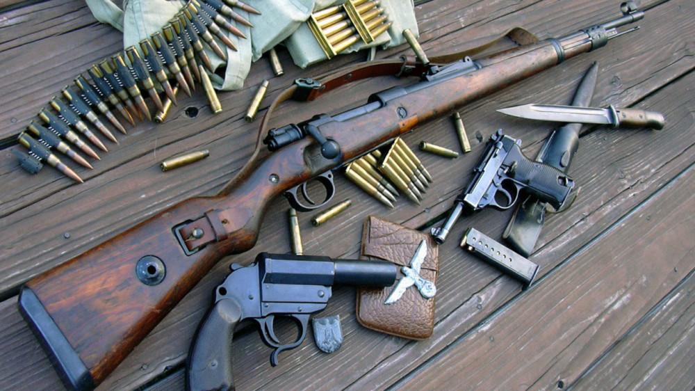 смотреть стрелковое оружие второй мировой войны видео комнате
