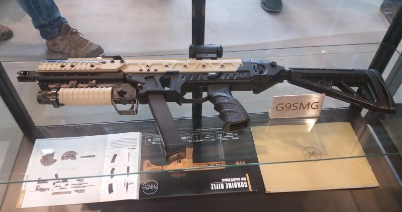 Пистолет-пулемет G9SMG зачем-то с подствольником G-40GL