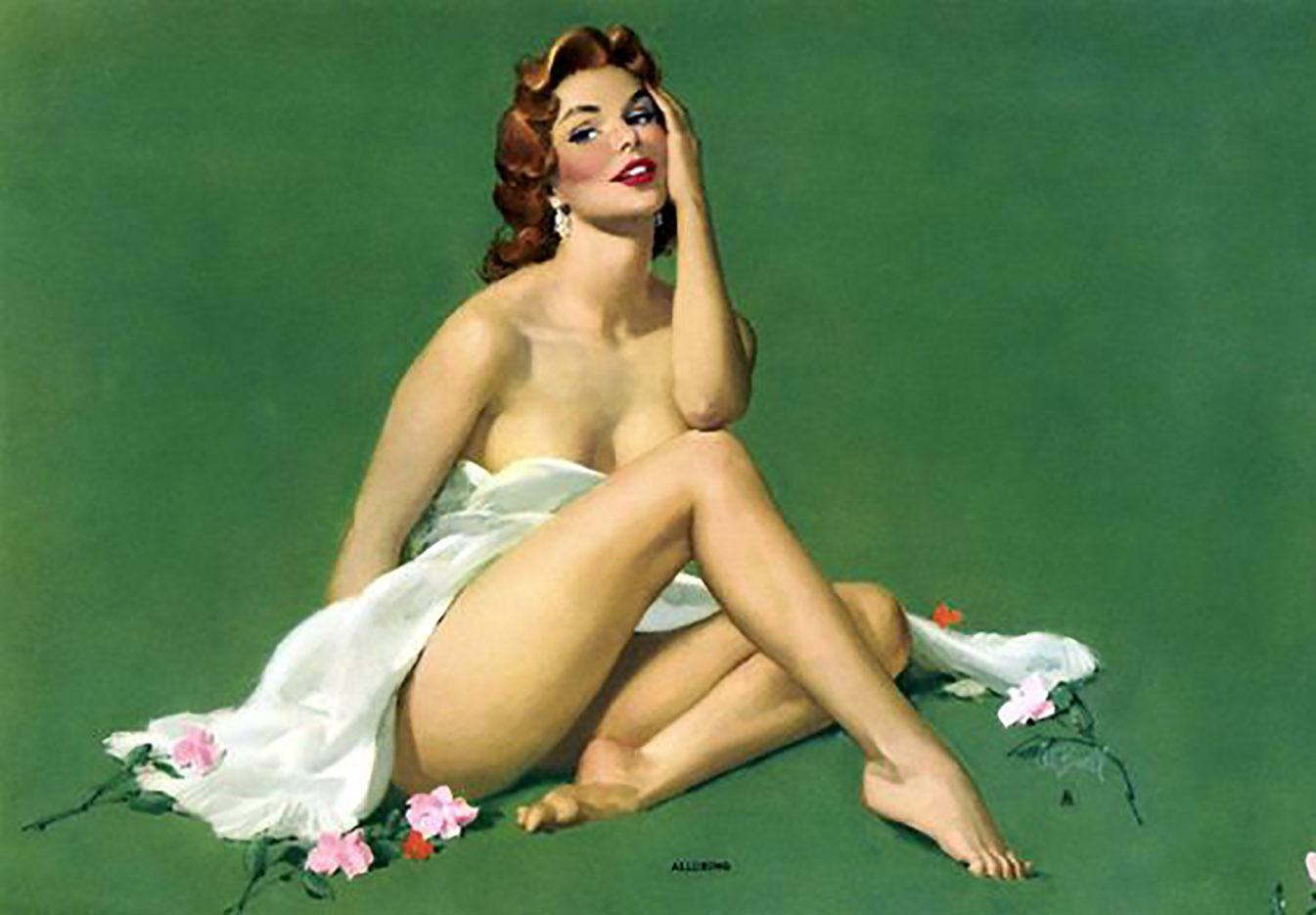Vintage nude pin up girls porn