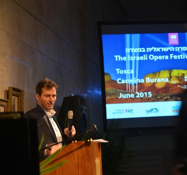 Opera-Press-conference3 ген директор  мин-ва туризма  Амир Халеви- 2-02-15 Фото  © Елена Запасская