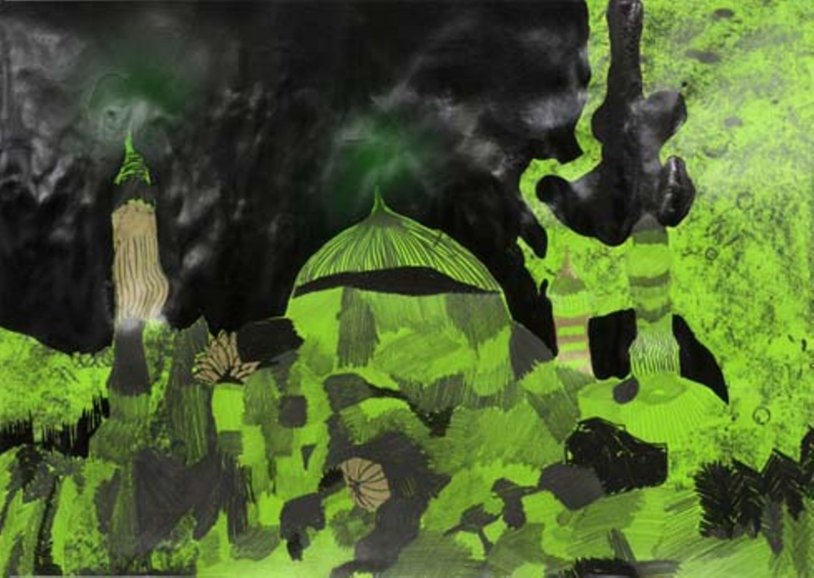 לילות ירוקים 15 , אלהם רוקני' , בית האמנים ירושלים