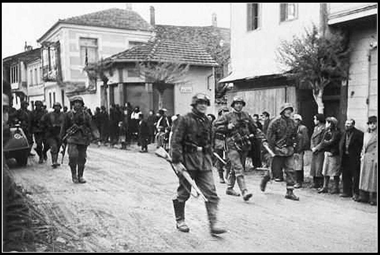 Время окупации немцами старой ушицы
