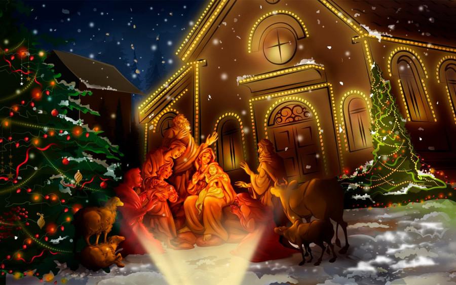 Видео открытки поздравления с рождеством христовым, день