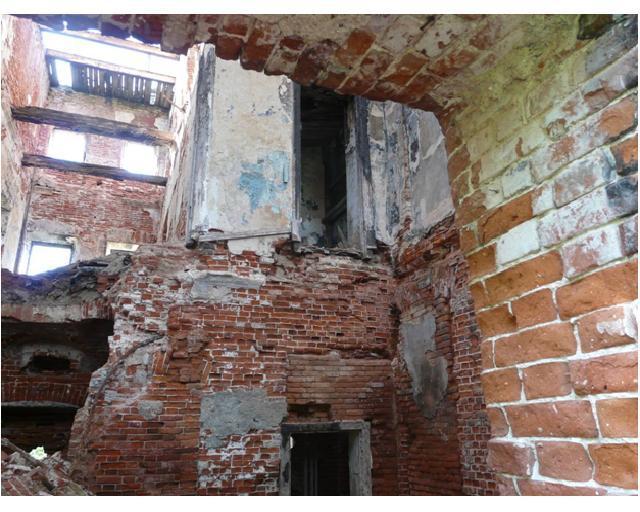 развалины внутри 3 дж