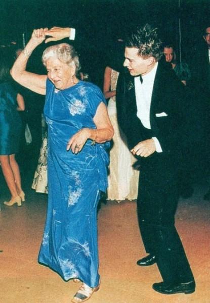 Танец на серебряной свадьбы
