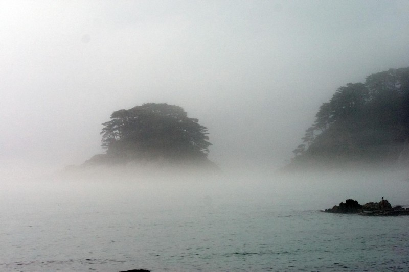 Остров Томящегося Сердца в тумане