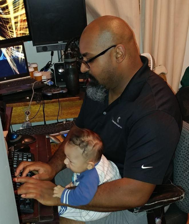 12.  Helping Papa Work.jpg
