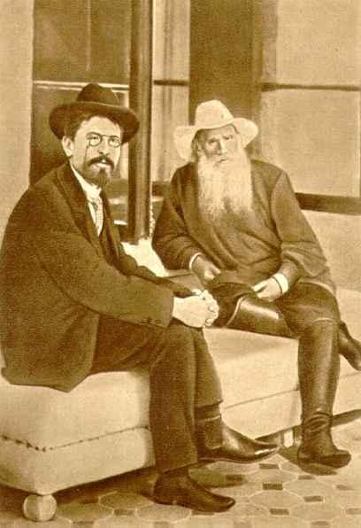 Чехов и Толстой