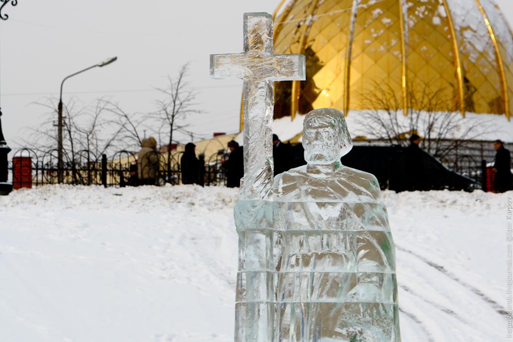 ледяная фигура Владимира