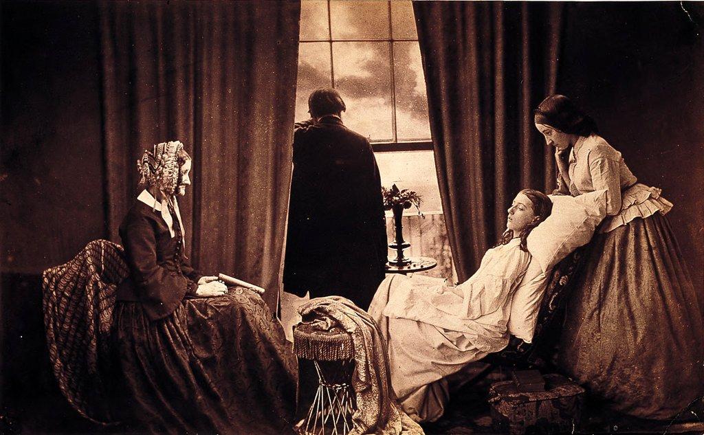 первый в мире фотомонтаж, 1858 год