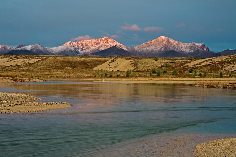 Магаданская область, озеро Момонтай, фотоэкспедиция, Сергей Карпухин