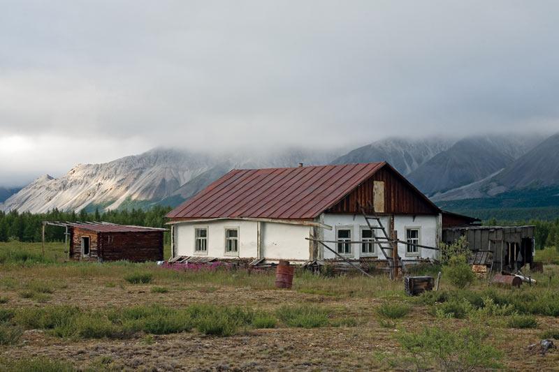 Якутия, озеро Дарпир, метеостанция, Сергей Карпухин