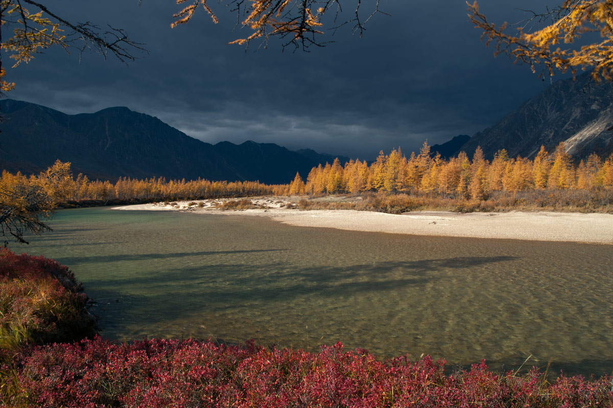 самый красивый пейзаж в якутии фото люди
