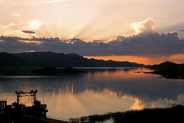 Западный Алтай, Бухтаминское водохранилище