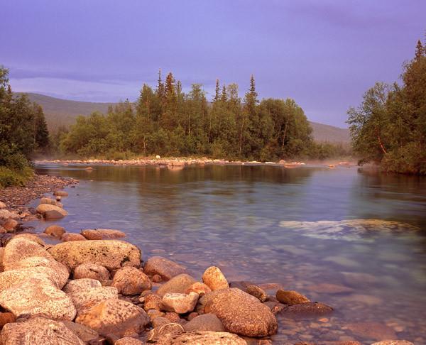 Прполярный Урал, река Парнук