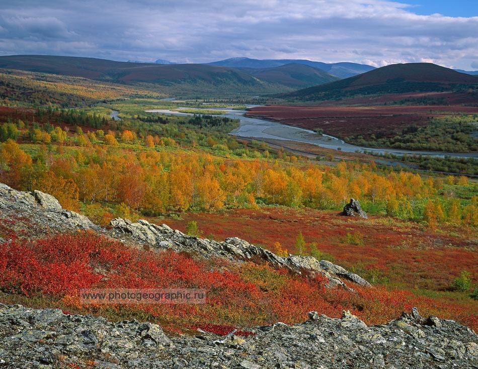 Полярный Урал, осень, пейзажная фотосъёмка