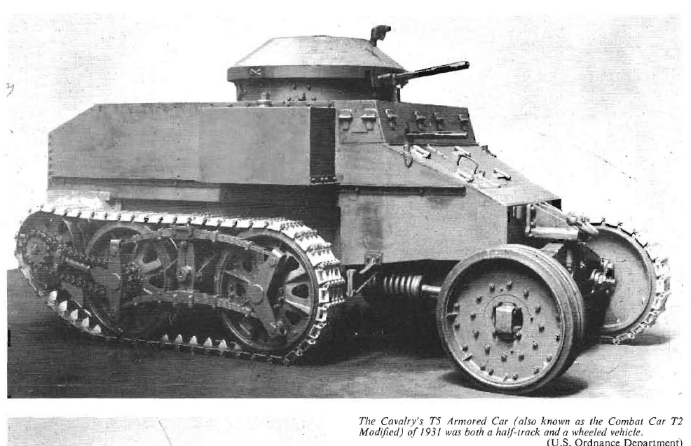 Cav T5 ArmCar 1931