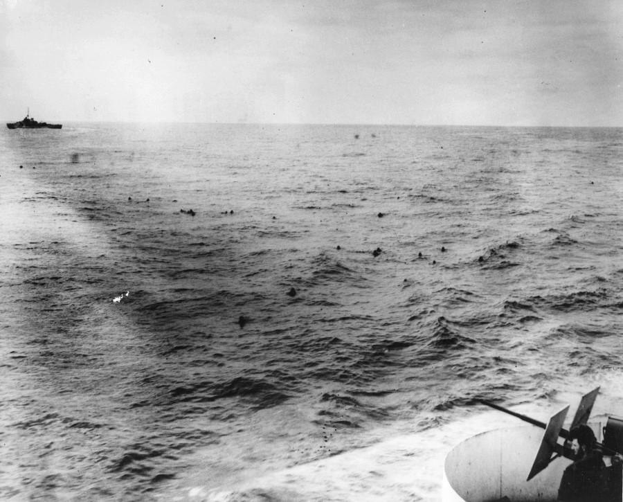 потопление немецких подводных лодок