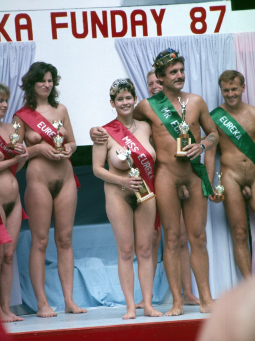 Junior miss pageant France  vintage nudism photo set 2