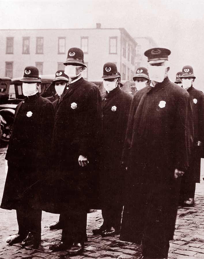 Испанка 1918 года.