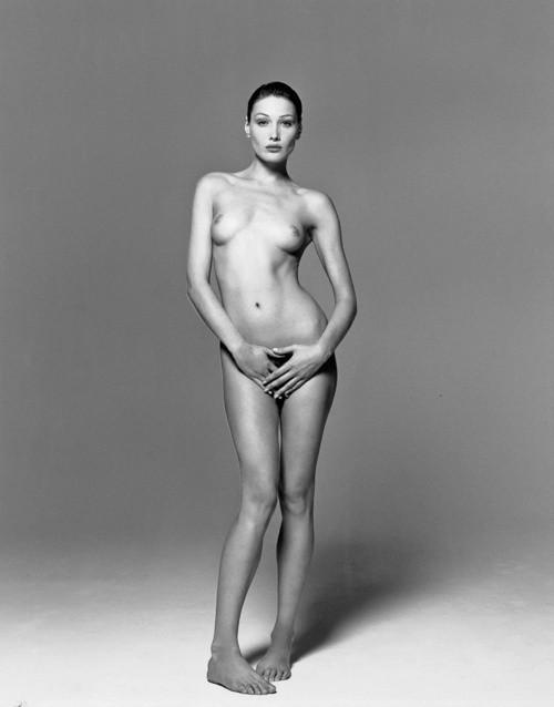 Carla Bruni by Michel Comte 93