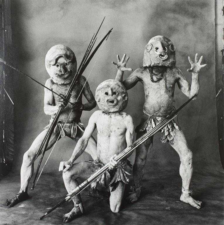 папуасы грязевые люди Асаро фото (2)