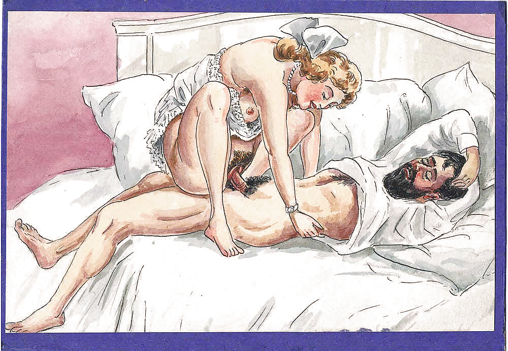 Порно в рисунках, как соблазнить мужа на минет