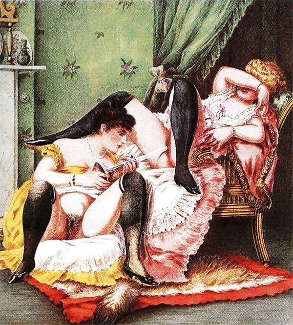 Лесбийская любовь в древности, девушки голые крупным планом видео