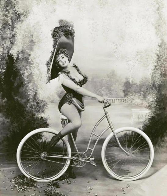 Старый велосипед-1