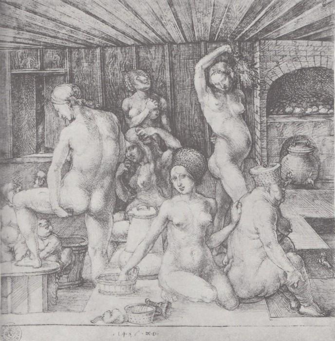 5 The women's bath. 1496