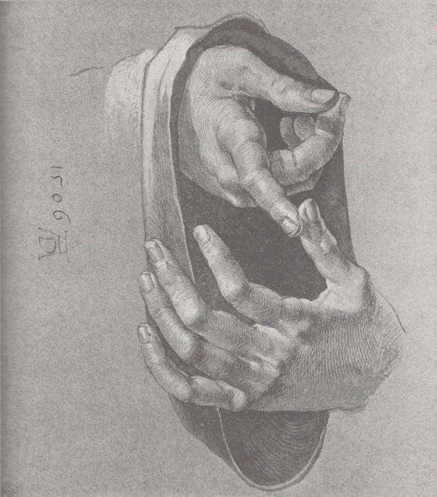 15 Boy's hands. 1506