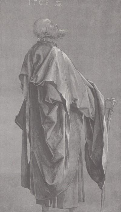 16 Study of drapery. 1508