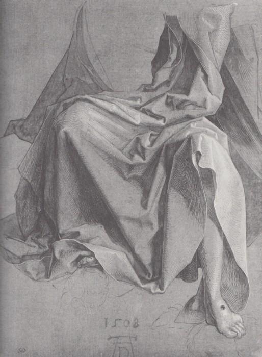 17 Study of drapery. 1508
