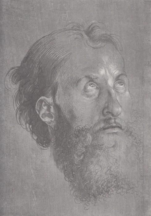 19 Head of an Apostle looking upward. 1508