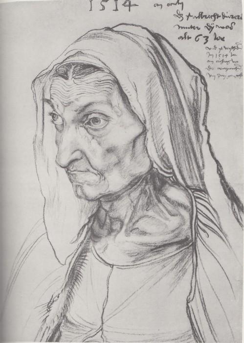 25 Durer's mother. 1514