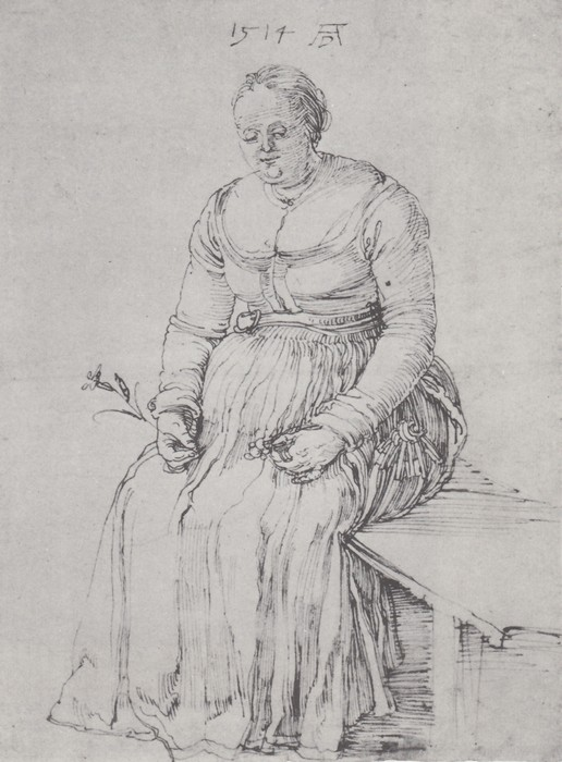 28 Seated woman. 1514