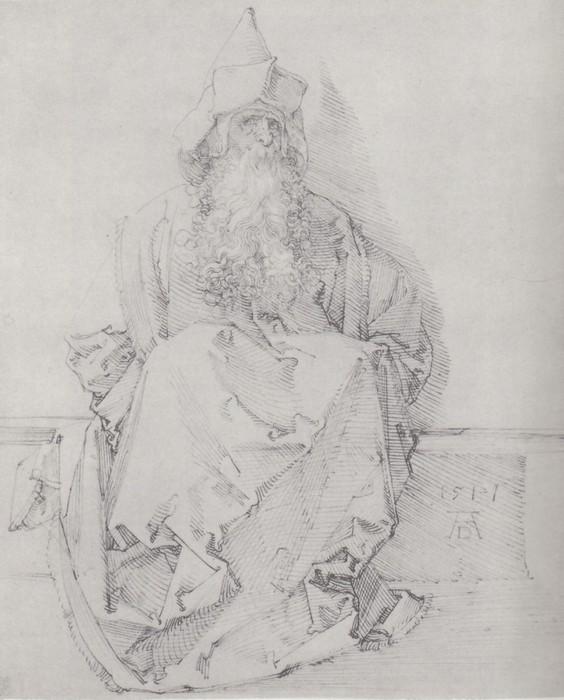 31 Seated prophet. 1517