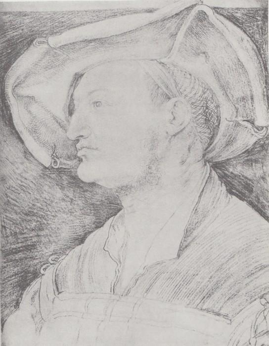 35 Portrait of Ulrich Varnbuhler. 1522