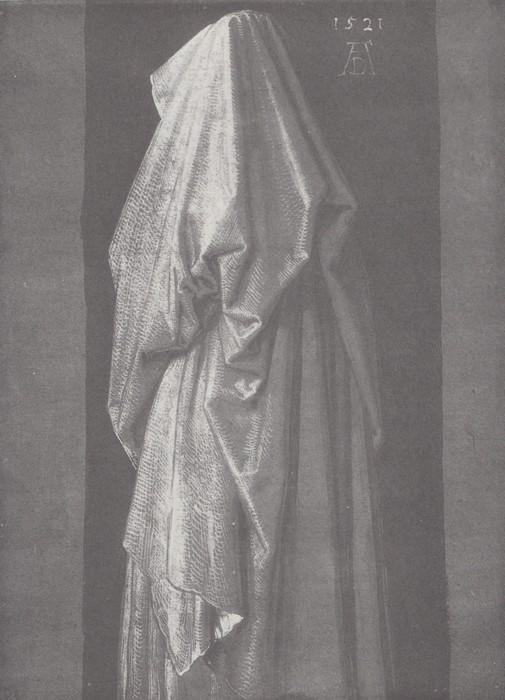36 Study of drapery. 1521