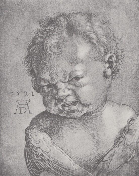 37 Weeping cherub. 1521