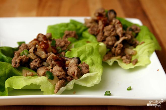 мясо_листья_салата