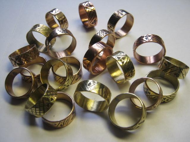 Латунь кольцо своими руками 100