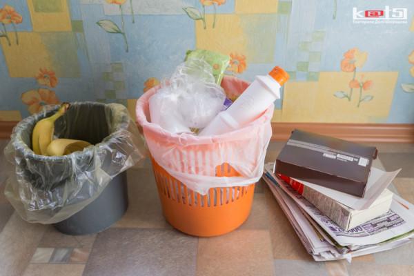 Раздельный сбор мусора в условиях квартиры