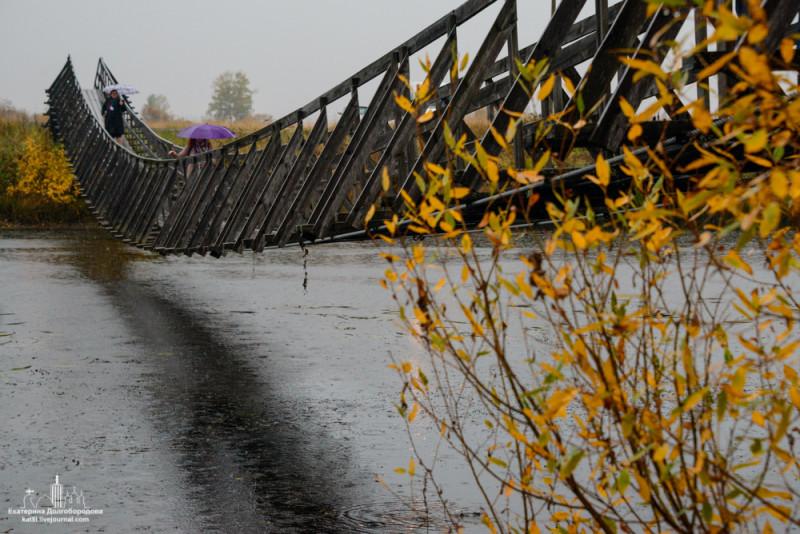 Мост через реку Заостровка