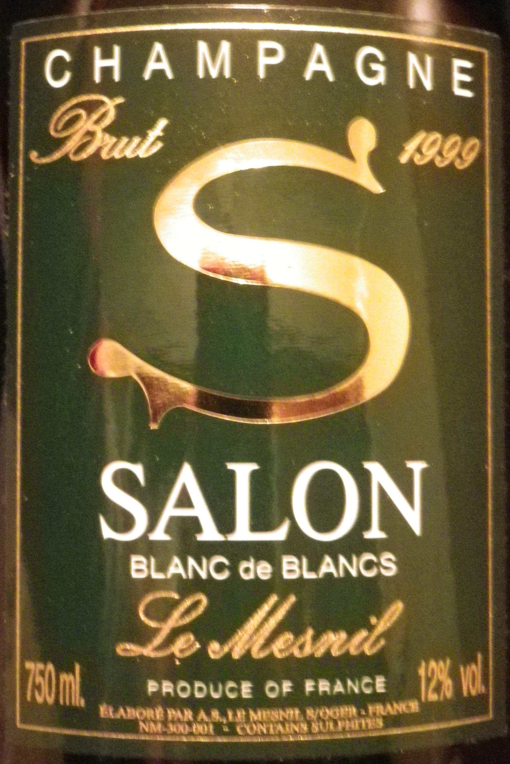 Salon Brut Blanc de Blancs de Mesnil \