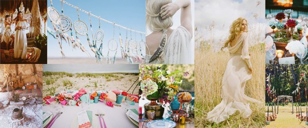 Boho wedding preview