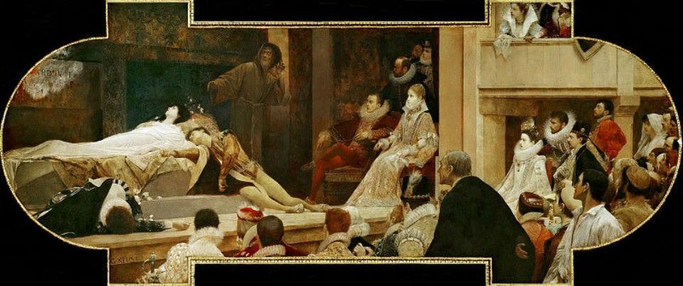 Ромео и Джульетта в лондонском театре Глобус