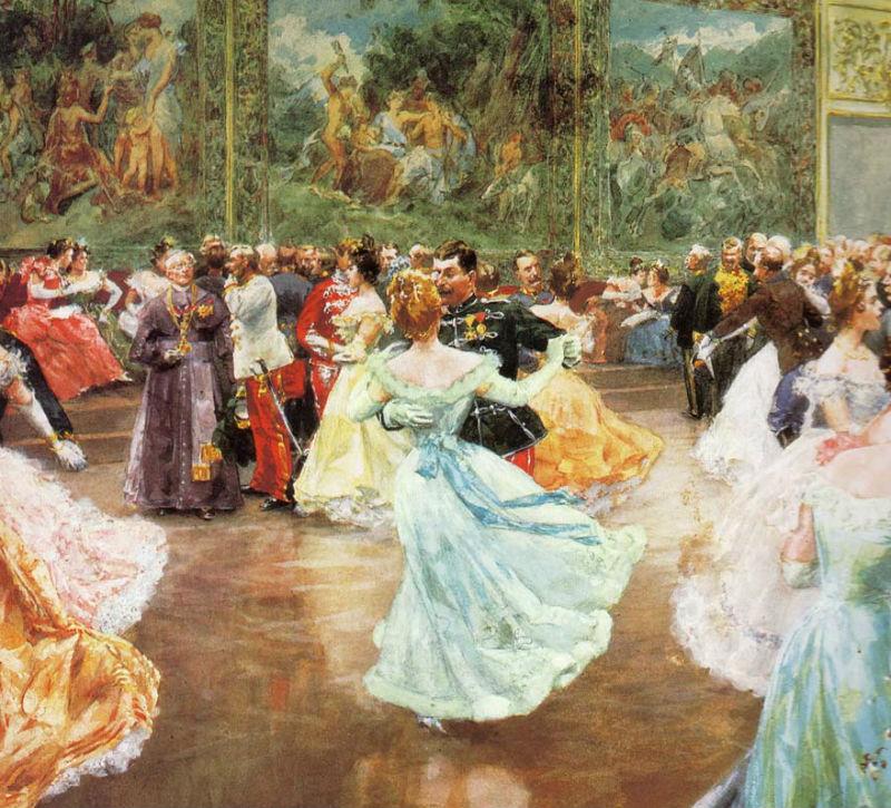 Бал в Хофбурге (1900)